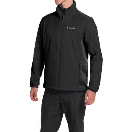 Columbia Sportswear Mighty Light Omni-Heat® Hybrid Jacket - Insulated (For Men) in Black - Closeouts
