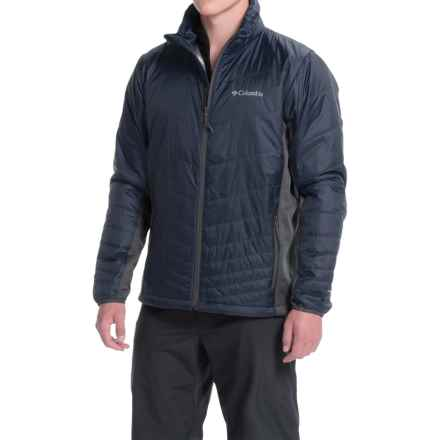 Columbia Sportswear Mighty Light Omni-Heat® Hybrid Jacket - Insulated (For Men) in Collegiate Navy/Graphite - Closeouts