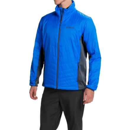 Columbia Sportswear Mighty Light Omni-Heat® Hybrid Jacket - Insulated (For Men) in Hyper Blue/Graphite - Closeouts