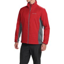 Columbia Sportswear Mighty Light Omni-Heat® Hybrid Jacket - Insulated (For Men) in Rocket/Graphite - Closeouts