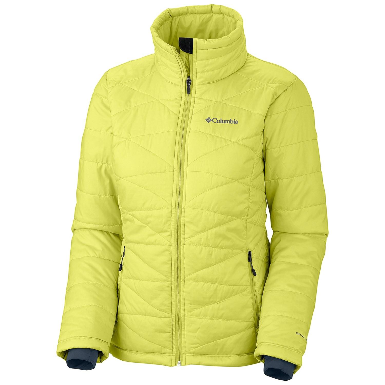 Womens columbia omni heat jackets