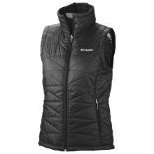 Columbia Sportswear Mighty Lite III Omni Heat® Vest (For Women) in Black - Closeouts