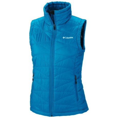 Columbia Sportswear Mighty Lite III Omni Heat® Vest (For Women) in Dark Compass