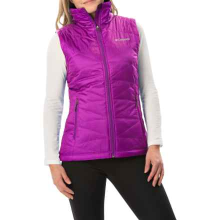 Columbia Sportswear Mighty Lite III Vest - Omni-Heat®, Insulated (For Women) in Bright Plum - Closeouts