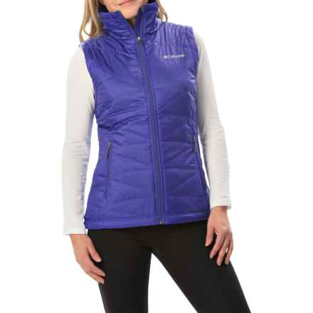 Columbia Sportswear Mighty Lite III Vest - Omni-Heat®, Insulated (For Women) in Light Grape - Closeouts