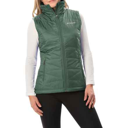 Columbia Sportswear Mighty Lite III Vest - Omni-Heat®, Insulated (For Women) in Pond - Closeouts