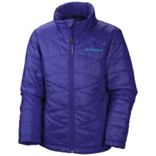 Columbia Sportswear Mighty Lite Omni-Heat® Jacket - Insulated (For Little and Big Girls) in Light Grape - Closeouts
