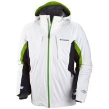 Columbia Sportswear Millennium Flash Omni-Heat® Jacket - Waterproof, Insulated (For Men) in White - Closeouts