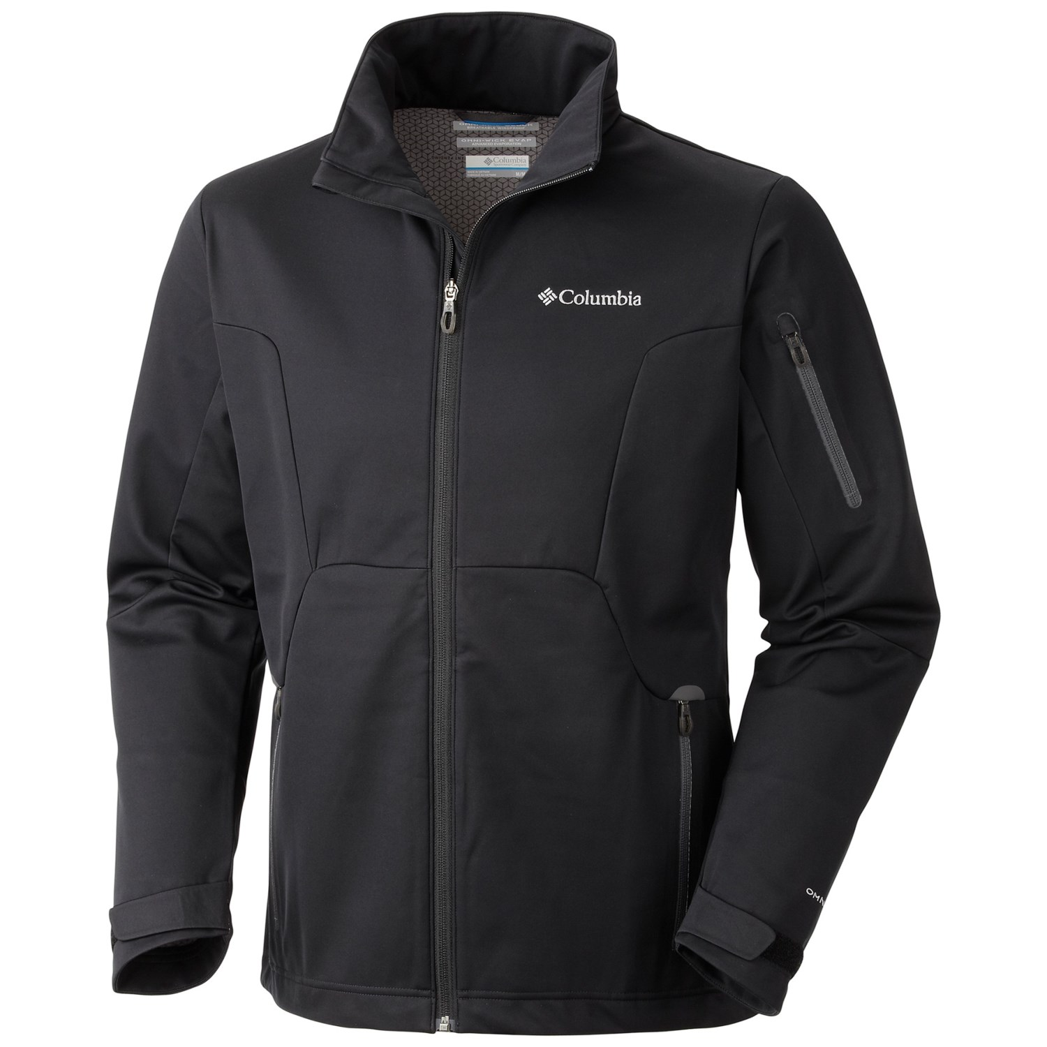 columbia sportswear million air soft shell jacket for men. Black Bedroom Furniture Sets. Home Design Ideas