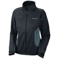 Columbia Sportswear Million Air Soft Shell Jacket (For Women) in Black