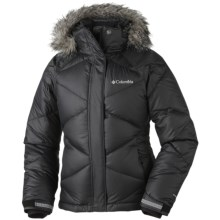 Columbia Sportswear Mini Lay D Down Puffer Omni-Heat® Jacket (For Girls) in Black - Closeouts