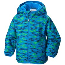 Columbia Sportswear Mini Pixel Grabber 2 Wind Jacket (For Toddlers) in Hyper Blue Camo - Closeouts