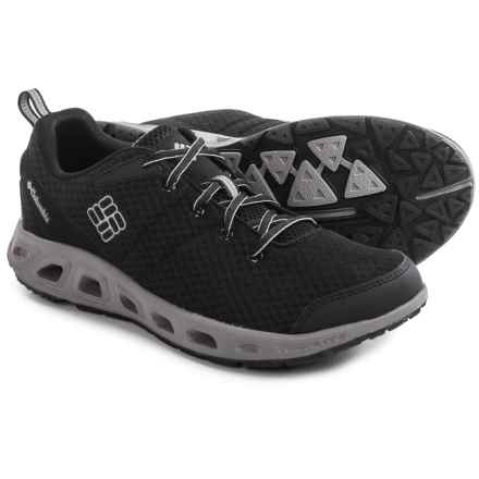 Columbia Sportswear Minoqua Vent Water Shoes (For Men) in Black/Light Grey - Closeouts