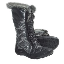 Columbia Sportswear Minx Mid Flash Omni-Heat® Winter Boots - Insulated (For Women) in Black - Closeouts