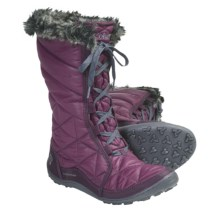 Columbia Sportswear Minx Mid Omni-Heat® Winter Boots - Waterproof, Insulated (For Women) in Vino - Closeouts