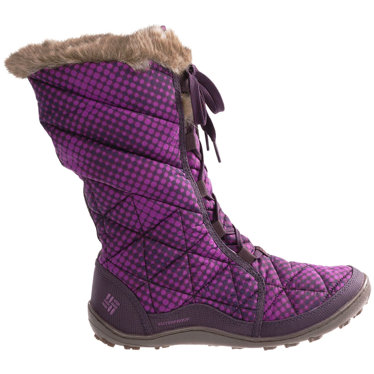 Unique Womens Columbia Minx Mid II Tweed Omni-Heat Waterproof Winter Snow Boot UK 3-8 | EBay