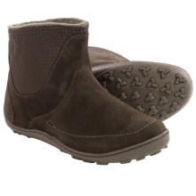 Columbia Sportswear Minx Nocca Boots - Waterproof, Suede (For Women) in Cordovan/Mud - Closeouts