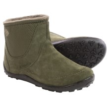 Columbia Sportswear Minx Nocca Boots - Waterproof, Suede (For Women) in Nori/Silver Sage - Closeouts