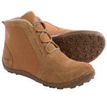 Columbia Sportswear Minx Nocca CVS Lace Boots - Waterproof, Suede-Canvas (For Women) in Elk/British Tan - Closeouts