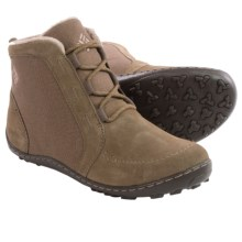 Columbia Sportswear Minx Nocca CVS Lace Boots - Waterproof, Suede-Canvas (For Women) in Saddle/Oxford Tan - Closeouts