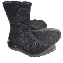 Columbia Sportswear Minx Slip-On Omni-Heat® Winter Boots (For Women) in Black - Closeouts