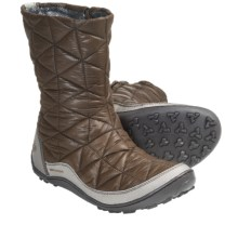 Columbia Sportswear Minx Slip-On Omni-Heat® Winter Boots (For Women) in Mud - Closeouts