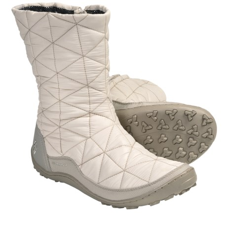 Columbia Sportswear Minx Slip-On Omni-Heat® Winter Boots (For Women) in Mud