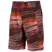 Columbia Sportswear Mix Master Boardshorts - UPF 50 (For Men) in Hot Rod - Closeouts