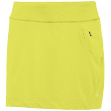 Columbia Sportswear Mix Mover II Skort - UPF 40, Built-In Shorts (For Plus Size Women) in Chartreuse - Closeouts