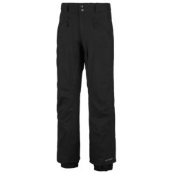 Columbia Sportswear Modern Logger Pants - Waterproof, Recycled Materials (For Men) in Black Twill