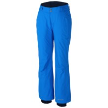 Columbia Sportswear Modern Mountain 2.0 Pants - Insulated (For Plus Size Women) in Blue Macaw - Closeouts