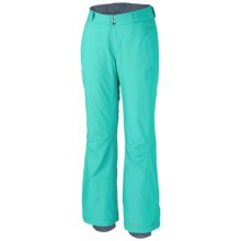 Columbia Sportswear Modern Mountain 2.0 Pants - Insulated (For Plus Size Women) in Oceanic - Closeouts