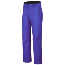 Columbia Sportswear Modern Mountain Snow Pants - Insulated (For Women) in Light Grape - Closeouts