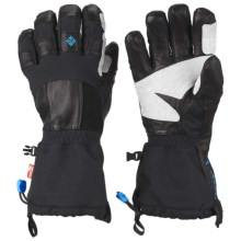 Columbia Sportswear Mountain Monster Omni-Heat® OutDry® Gloves - Waterproof, Insulated (For Men) in Black - Closeouts