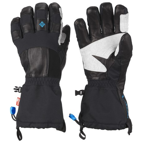 Columbia Sportswear Mountain Monster Omni-Heat® OutDry® Gloves - Waterproof, Insulated (For Men) in Black