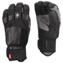 Columbia Sportswear Mountain Monster Short Omni-Heat® Gloves - Waterproof (For Men) in Black - Closeouts