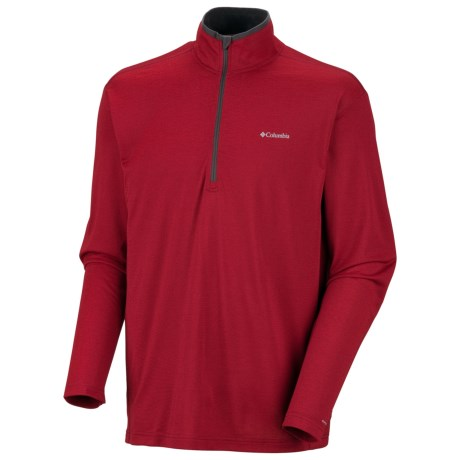 photo: Columbia Men's Mountain Tech Long Sleeve Half Zip