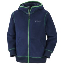Columbia Sportswear Mt. Hood Grinder Hoodie Sweatshirt - Fleece (For Boys) in Collegiate Navy - Closeouts