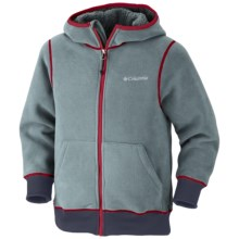 Columbia Sportswear Mt. Hood Grinder Hoodie Sweatshirt - Fleece (For Boys) in Light Metal - Closeouts