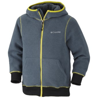 Columbia Sportswear Mt. Hood Grinder Hoodie Sweatshirt - Fleece (For Boys) in Mystery