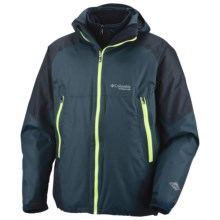 Columbia Sportswear Mt. Huxley 3-in-1 Parka - Titanium, Waterproof, Insulated (For Men) in Deep Teal - Closeouts