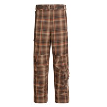Columbia Sportswear Mt. Krause Snow Pants - Waterproof, Titanium  (For Men) in Cocoa Fade Yarn Dye - Closeouts