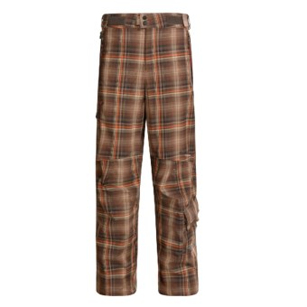 Columbia Sportswear Mt. Krause Snow Pants - Waterproof, Titanium  (For Men) in Cocoa Fade Yarn Dye