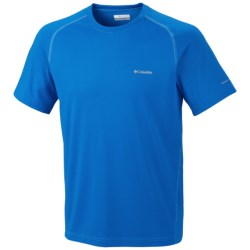 Columbia Sportswear New Mountain Tech III Shirt - UPF 15, Short Sleeve (For Big Men) in Foliage
