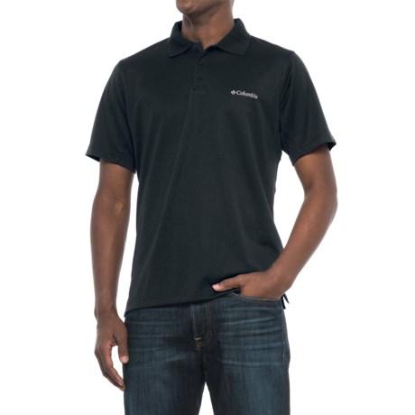 Columbia Sportswear New Utilizer Polo Shirt - UPF 30, Short Sleeve (For Men) in Black