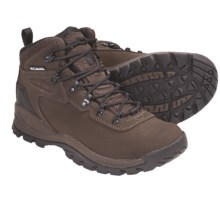 Columbia Sportswear Newton Ridge 2 Omni-Shield® Hiking Boots - Leather (For Women) in Bruno/Sail - Closeouts