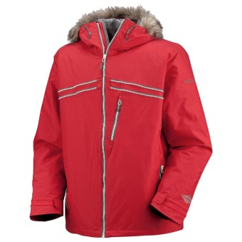 Columbia Sportswear Night Ride Jacket - Insulated (For Men) in Red Alert