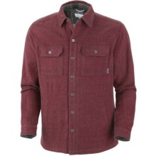 Columbia Sportswear Noble Falls Omni-Heat® Shirt Jacket - Long Sleeve (For Men) in Red Velvet - Closeouts