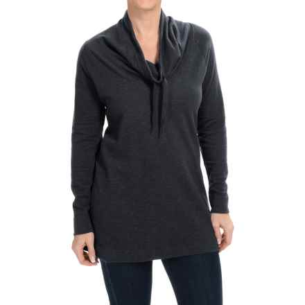 Columbia Sportswear North Alp Sweater - Cowl Neck (For Women) in Black Heather - Closeouts