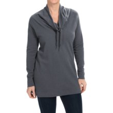 Columbia Sportswear North Alp Sweater - Cowl Neck (For Women) in Graphite Heather - Closeouts